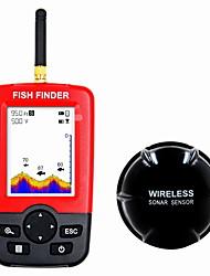 Недорогие -Радара 1 pcs 114.3 mm ЖК-дисплей 0.6-30 m Беспроводной Беспроводной Перезаряжаемая Обычная рыбалка