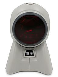 Недорогие -YK&SCAN 8160 Сканер штрих-кода сканер USB 2.0 Свет лазера 3200 DPI
