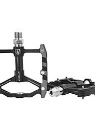 Недорогие -Wheel up Горный велосипед педали Плоские педали и платформы Герметичный подшипник Легкость Противозаносный 3 Подшипники Aluminum Alloy для Велоспорт