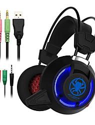 olcso -fejhallgató játék fejhallgató ps4 xbox számítógép mobiltelefon laptop pc780 könnyű és elegáns zajcsökkentés vezetékes