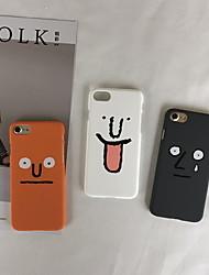 Недорогие -чехол для яблока iphone 6 / iphone xs max рисунок задняя крышка мультфильм жесткий пластик для iphone 6 / iphone 6 plus / iphone 6s