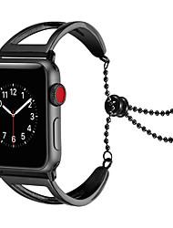 baratos -Pulseiras de Relógio para Apple Watch Series 4/3/2/1 Apple Modelo da Bijuteria Aço Inoxidável Tira de Pulso