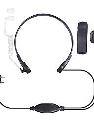 Недорогие -гарнитура (наушники + микрофон) аксессуары для рации 1 Вт ip для baofeng