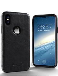 baratos -luxo texturizado tampa traseira flexível casos de proteção total à prova de choque macio para iphone x