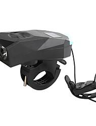 Недорогие -Светодиодная лампа Велосипедные фары Передняя фара для велосипеда Горные велосипеды Велоспорт Водонепроницаемый Безопасность Портативные USB Литиевая батарея 350 lm