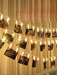 Недорогие -3aa 3 м 20led струнные светильники дома на стене висит карта картинки клипы фото колышки струна свет лампы в помещении декор моды струнная лампа 1 шт.