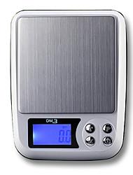 Недорогие -0.5g-2000g Портативные Автоматическое выключение Несколько режимов Электронные кухонные весы Семейная жизнь Кухня ежедневно