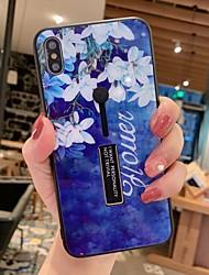 Недорогие -чехол для яблока iphone xs max / iphone x держатель кольца задняя крышка мрамор / цвет градиент жесткий акрил для iphone 6 / iphone 6 plus / iphone 6s / 6splus / 7/8/7 plus / 8 plus / x / xs / xr / xs