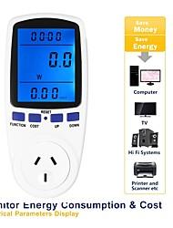 abordables -LITBest TS-836B-B Otros instrumentos de medición Digital Energy Meter Socket inteligente