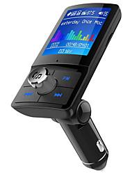 Недорогие -жк-bluetooth edr fm передатчик автомобильный комплект громкой связи mp3-плеер зарядное устройство usb