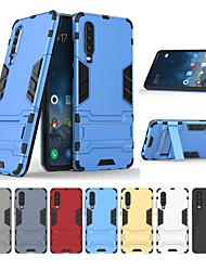 Недорогие -Кейс для Назначение Huawei Huawei P30 / Huawei P30 Pro / Huawei P30 Lite Защита от удара / Защита от пыли / Защита от влаги Кейс на заднюю панель Однотонный Твердый ТПУ / ПК