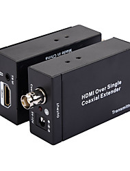 Недорогие -DC 5,5 мм / HDMI 1.4 / SDI Конвертер, DC 5,5 мм / HDMI 1.4 / SDI к DC 5,5 мм / HDMI 1.4 / SDI Конвертер Female - Female 1080P Позолоченная медь 1.5M (5Ft) 2.5 Гб / сек.