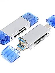 Недорогие -Maikou 3 в 1 универсальный TF / SD-карта OTG считыватель USB Type-C кард-ридер для Android смартфонов ПК