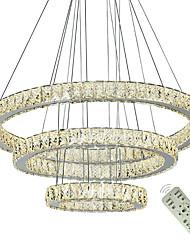 Недорогие -подвесные светильники современные хрустальные люстры свет светодиодные люстры потолочные светильники крытый подвесной светильник светильники дома светильники 110-120 В / 220-240 В