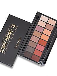 abordables -4 colores Sombras de Ojos Sombra Mujer / perdurable Larga Duración Tono de Piel Desigual Maquillaje de Diario / Maquillaje de Fiesta Cosmético / Mate / Brillo