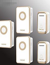 Недорогие -беспроводной дверной звонок умный дверной звонок старый абонент цифровой дверной звонок водонепроницаемый от двух до трех дверной звонок