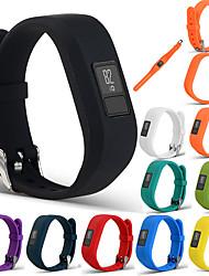 Недорогие -спортивный силиконовый браслет ремешок для браслета для garmin vivofit 3