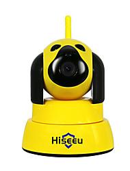 baratos -Hiseeu Câmera de Segurança Em Casa IP Sem Fio Wi-Fi Cão Inteligente Wi-fi Câmera de Vídeo 720 P Night CCTV Indoor Baby Monitor