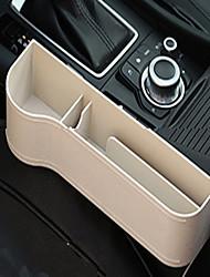 Недорогие -многофункциональный кожаный ящик для хранения бокового зазора автомобильного сиденья