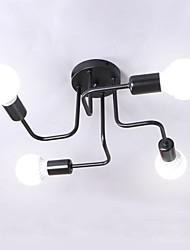 baratos -4-luz Sputnik / Linear / Geométrico Apliques de Tecto Luz Ambiente Acabamentos Pintados Metal Fofo, Criativo, LED 110-120V / 220-240V Branco Quente / Branco