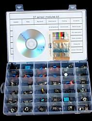 Недорогие -Наборы модулей датчиков 37 в 1 для arduino uno r3 mega 2560 mega nano
