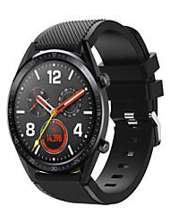 Недорогие -ремешок для часов huawei часы gt huawei watch 2 classic band 22мм быстросъемный силиконовый сменный ремешок для снаряжения s3 время галочки moto 360 lg g часы ticwatch pro asus vivowatch zenwatch 2