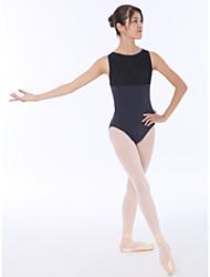 tanie -Balet Body Damskie Szkolenie Bawełna Koronka / Materiały łączone Trykot opinający ciało / Śpiochy dla dorosłych