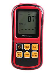 Недорогие -Профессиональный термометр цифровой мера слишком высокая точность измеритель температуры тестер с жк-подсветкой gm1312