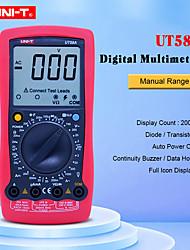 Недорогие -Цифровой мультиметр UNI-T UT58A AC Вольтметр постоянного тока с большим ЖК-экраном Удержание данных Зуммер тестер Multimetro