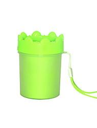 Недорогие -Маленькие зверьки Чистка Полипропиленовая пряжа Ванночки На каждый день Зеленый Синий Розовый