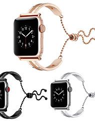 Недорогие -SmartWatch для Apple Watch серии 4/3/2/1 яблоко бабочка пряжка из нержавеющей стали ремешок телескопический ремешок для часов