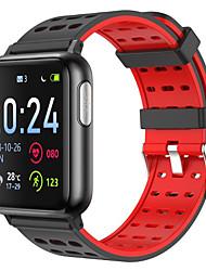 Недорогие -V5 ЭКГ ppg spo2 умные часы артериальное давление кислорода спорт группа монитор сердечного ритма мужчины женщины smartwatch