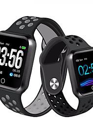 Недорогие -sm05 умные часы смотреть ip67 водонепроницаемый 30 метров водонепроницаемый 15 дней в режиме ожидания сердечного ритма артериального давления smartwatch