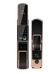 Недорогие -замок отпечатков пальцев автоматическая дверь безопасности умный дом пароль электронный замок инфракрасный датчик блокировки