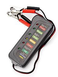 Недорогие -Тестер автомобильного аккумулятора и генератора дисплея 12v 6led для тележки мотоцикла автомобиля
