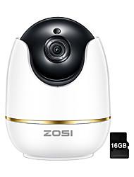 Недорогие -zosi wi-fi ip-камера 1080p беспроводная мини видеонаблюдение p2p-камера радионяня безопасности p / t 16-гигабайтная карта micro sd бесплатно ios android приложение крытый ик-вырез ночного видения