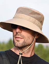 Недорогие -Шляпа Boonie 1 ед. Компактность С защитой от ветра Защита от излучения Удобный Сплошной цвет Терилен Осень для Муж. Жен. Походы / туризм / спелеология Путешествия Темно-серый