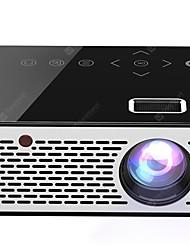 Недорогие -T200 карманный мини светодиодный жк-проектор сенсорные кнопки домашний кинотеатр hdmi / av / usb proyector проектор 1080p hd портативный