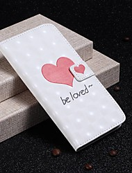 cheap -Case For Huawei P20 Pro / Huawei P30 Lite Wallet / Card Holder / Shockproof Full Body Cases Heart Hard PU Leather for Huawei P20 / Huawei P20 Pro / Huawei P20 lite