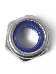 Недорогие -м3-м10 60шт / комплект из нержавеющей стали самоконтрящаяся гайка нейлоновая контргайка