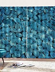 Недорогие -приморский пляж свежий дизайн декораций шторы утолщение звукоизоляция головы изоляция ткани шторы спальня простота установки водонепроницаемый против морщин занавески для душа