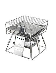 Недорогие -Набор инструментов для барбекю / Наборы посуды 304 Нержавеющая сталь Многофункциональный Для приготовления пищи Посуда