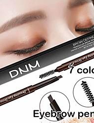 Недорогие -двойной бровей ручка водонепроницаемый карандаш для бровей с кистью макияж косметический инструмент