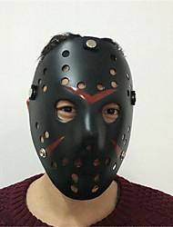 Недорогие -Муж. Жен. Ручная маска - Сетка Контрастных цветов Черный и красный