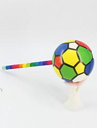 Недорогие -новый pu / пластик с синим карандашом свинца шариковая ручка с ручным заводом подарки ручной работы радуга шариковая ручка для офиса&усилитель; школьные принадлежности сбросить / снять давление