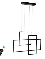 Недорогие -современные люстры свет остров подвесной светильник потолочный светильник светодиодный интегрированный 31,5 дюймов теплый белый / белый / с возможностью затемнения с дистанционным управлением / Wi-Fi