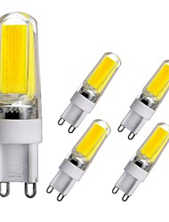 Недорогие -5 шт. G9 база светодиодные лампы затемнения светодиодные двухконтактные огни 3 Вт светодиодный свет для домашнего офиса залы люстра ac110v ac220v теплый белый белый натуральный белый