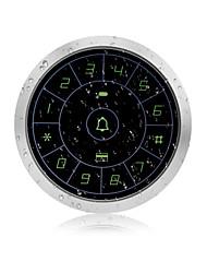 Недорогие -zktco zk-fp800e металлический сенсорный контроллер доступа ID-карта пароль посещаемости машины - серебро
