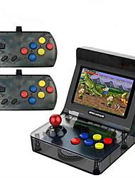 Недорогие -2019 портативная ретро портативная игровая консоль 4,3-дюймовый 64bit 3000 видеоигр классическая семейная игровая консоль подарок ретро аркада