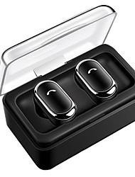 Недорогие -tws d005 bluetooth-гарнитура выигрывает беспроводные bluetooth-наушники стереогарнитура вкладыши-вкладыши встроенный микрофон с док-станцией для зарядки